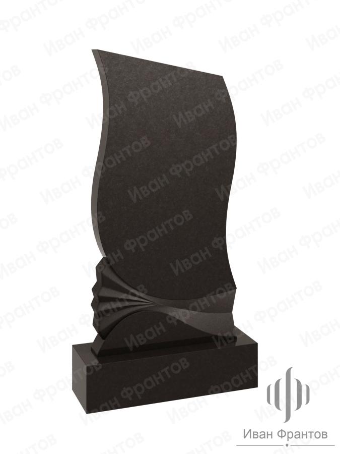 Памятник вертикальный Black 027