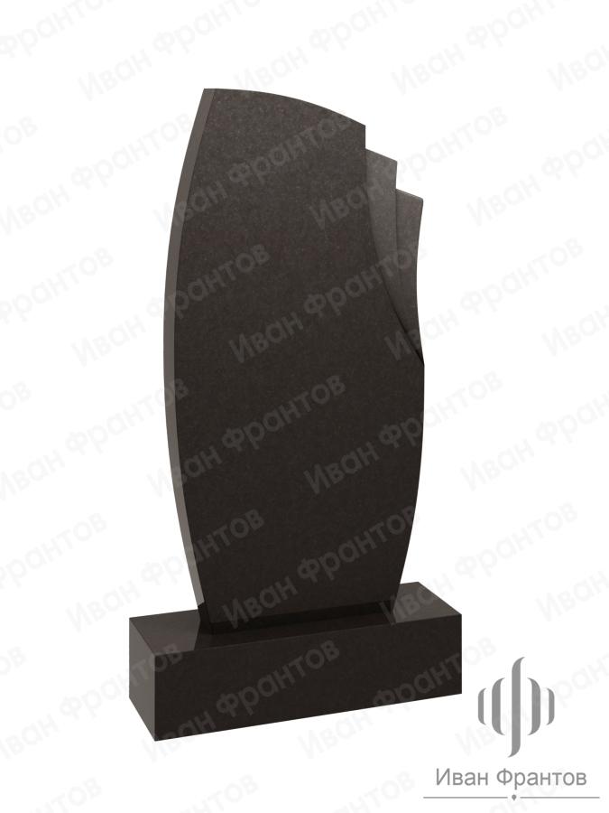 Памятник вертикальный Black 006