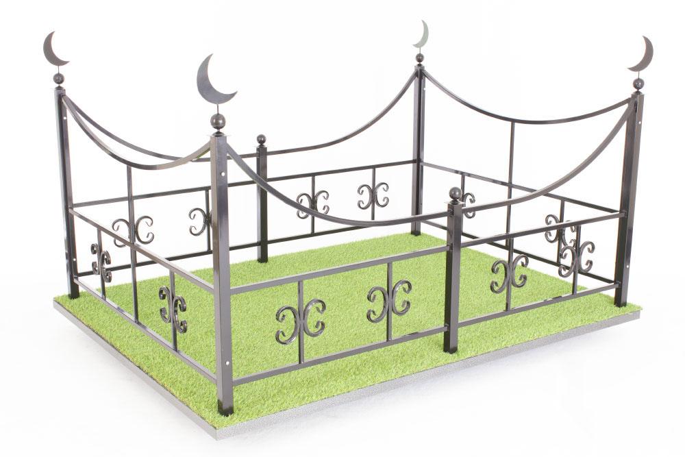Ограда Память 024 мусульманская
