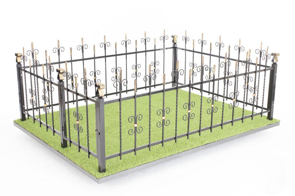 Ограда Память 006 с патинированием