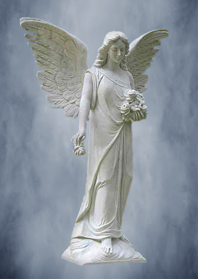 Ангел из мрамора 001