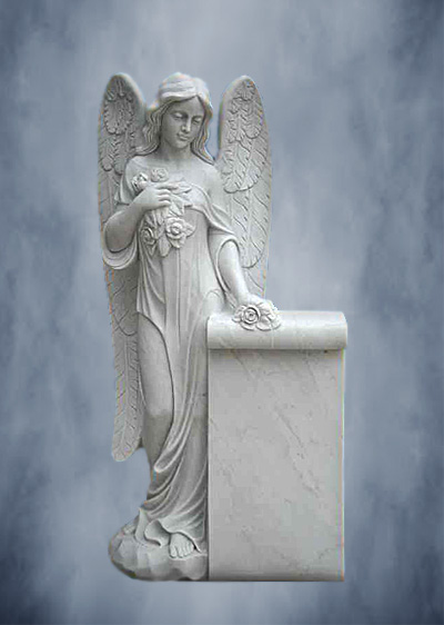 Ангел из мрамора 002